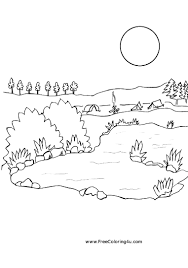 lake 14 nature printable coloring pages within coloring page eson me