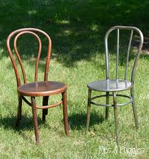 How To Paint Wooden Chairs by Pies And Puggles Diy Painted Bentwood Chair