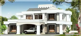 elegant modern house designs u2013 sq feet 4 bedroom villa design in 4