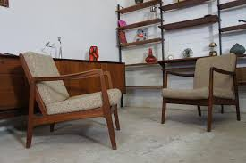sessel 50er design 1von2 easy arm chair sessel teak ole wanscher cado