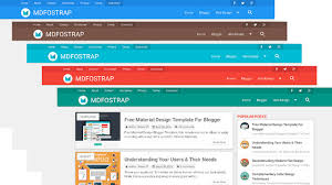 10 best responsive material design blogger templates codiblog