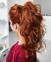 Dressy Hairstyles Best 20 Curly Ponytail Ideas On Pinterest Curly Ponytail