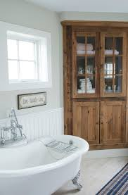 Traditional Bathtub New York Corner Cabinet Kitchen Bathroom Beach Style With Country