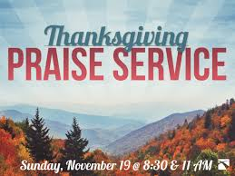 thanksgiving praise service 11 19 17 mount airy bible church