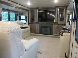 5th wheel with living room in front luxury fifth wheels with front living room materialwant co