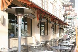 restaurant patio heater sunglo a270 bk freestanding portable propane patio heater black