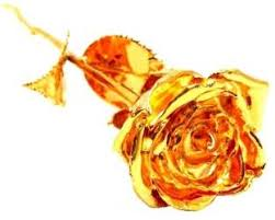 Rose Dipped In Gold Jewel Fuel Valentine Special Rose In 24k Gold Forever Love
