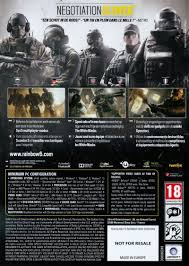 siege pour tom clancy s rainbow six siege of siege edition 2015