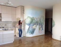 61 best kitchen murals images on pinterest murals hand painted