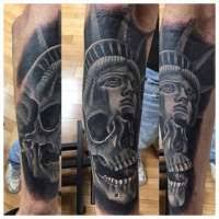 olio 1199 skull tattoo idea images that mention skull