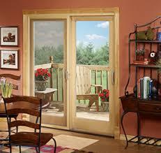 Wooden Sliding Patio Doors Sliding Doors Pella Carolina
