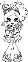 popcorn shopkins coloring page wecoloringpage