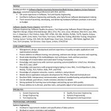 100 sample resume for 2 years experience in software testing