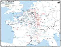 Alps On A Map Map Of Wwii Western Europe Aug 26 Sept 14 1944 Best Wwii