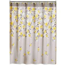 yellow and gray curtains target large size of coffee yellow