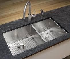 stainless steel double sink undermount 35 zero radius stainless steel 60 40 double sink undermount