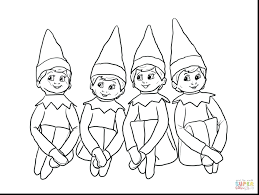 coloring pages of elf quality elf on the shelf color pages coloring page h ideas 172