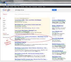 seo search engine optimization web design of york