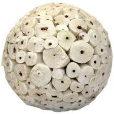 Decorative Spheres For Bowls Ivory Large Decorative Balls I Available At Http Www