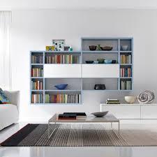 living rooms from zalf biblioteca moderna de melamina de roble z030 zalf interiores