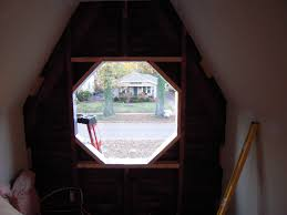 octagon stained glass window marvin octagonal window adventures in remodeling