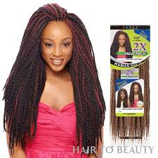 noir pre twisted senegalese twist 2x tantalizing twist braid 22 inch janet collection noir synthetic