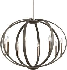 Kichler Lighting Chandelier Kichler 43872oz Elata Contemporary Olde Bronze Lighting Chandelier