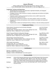 Technical Consultant Cv Federal Job Resume Resume For Your Job Application