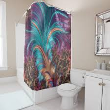 feather shower curtains zazzle