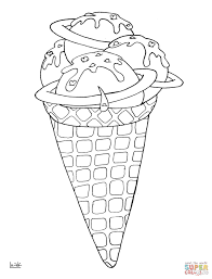 printable coloring pages ice cream