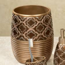 Wicker Bathroom Accessories by Spindle Medallion Bath Accessories