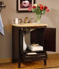 27 u201d perfecta pa 5612 bathroom vanity single sink cabinet dark