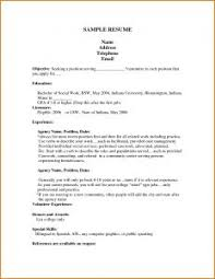 Bad Resumes Examples by Examples Of Resumes Printable Job Application Your Resource In