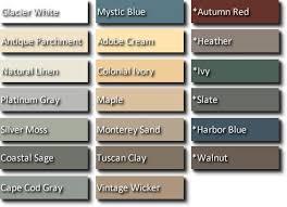 vinyl siding colors the adobe cream or the walnut house siding