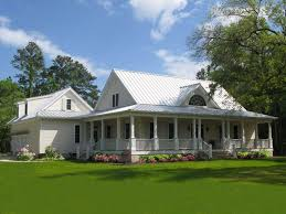country southern house plans with wrap around porch luxihome