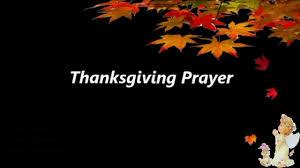 thanksgiving prayer happy thanksgiving