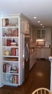 kitchen bookshelf ideas book in kitchen for cookbook look at new house to see if