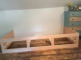 beautiful built in bed nook with storage drawers remodelaholic