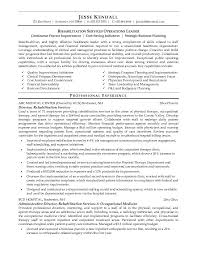 Sample Mental Health Counselor Resume by Sample Physical Therapy Resume Free Resumes Tips