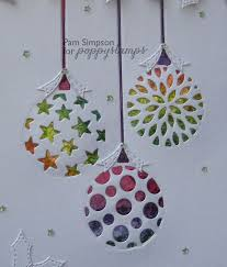 ornament trio cutouts by pam poppysts