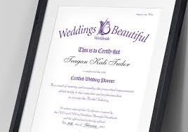 wedding planner certification weddings beautiful