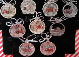 ih international harvester pewter ornament set 9