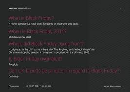 best black friday deals 2016 retail black friday market performance report pi datametrics
