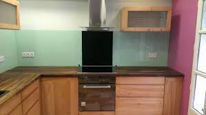 fonds de cuisine fond de hotte sur mesure gallery of cuisine avec sparation par
