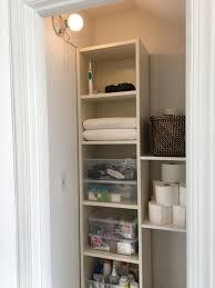 Bathroom Closet Shelves Bathroom Closet Before After Project Palermo