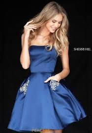 sherri hill short prom dress 51390 at peaches boutique