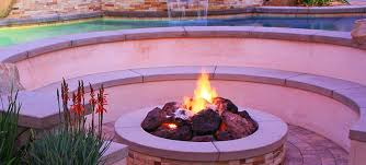 Fire Pit With Water Feature - la u0026 southern california design build company pacific outdoor living