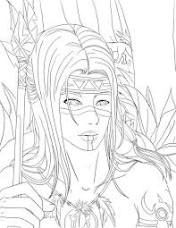 native coloring page free download