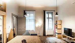 Micro Homes Interior Cool Micro Studio In Budapest Makes The Most Out Of 344 Square