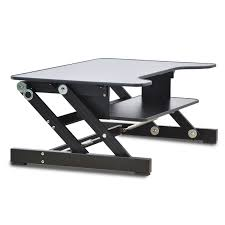 Laptop Desk Stands Big Size Height Adjustable Sit To Stand Lapdesk Riser Foldable